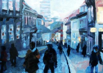 Radićeva Street in Evening Light / Radićeva navečer