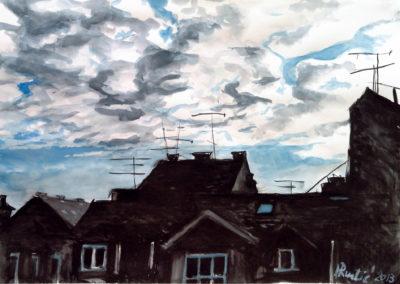 Clouds Above Zagreb´s Roofs / Oblaci iznad zagrebačkih krovova