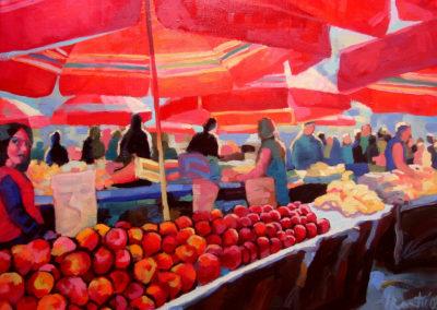 Apples on Dolac Market / Jabuke na Dolcu (Zagreb)