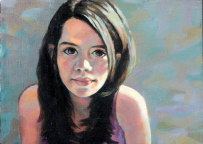 Laura Pascu aged 13