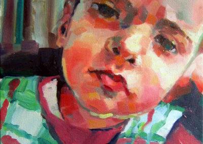 Luisa Pascu aged 4