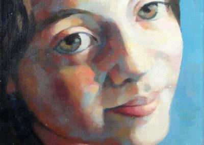 Luisa Pascu aged 10