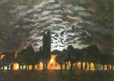 Moonlight Behind Clouds / Mjesečina iz oblaka