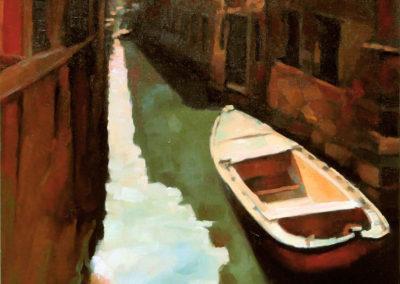 Boat in Venice / Barka u Veneciji