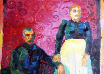 Red couple / Crveni par