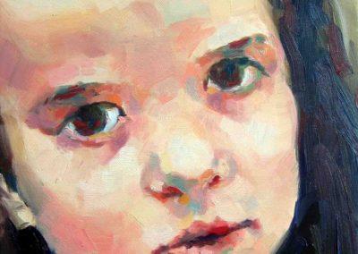 Laura Pascu aged 7 / Laura Pascu s 7 godina