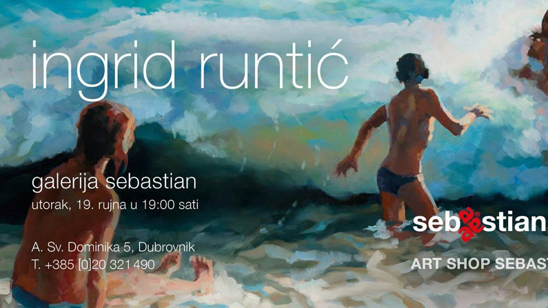 Poziv na otvorenje izložbe u Dubrovniku