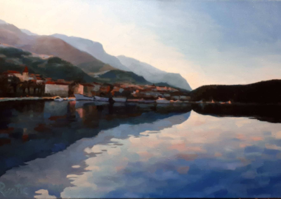 Winter Morning in Makarska